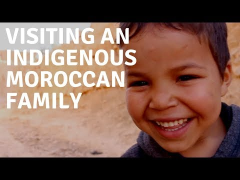 Visiting An Indigenous Moroccan Family
