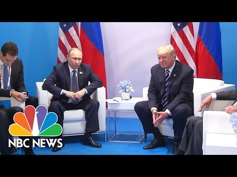 President Donald Trump And Vladimir Putin Offer Comments Before Their G20 Meeting | NBC News