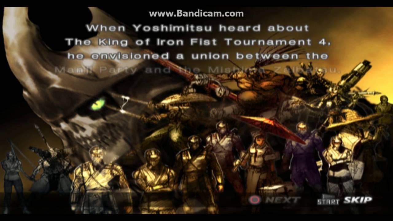 Tekken 4 Yoshimitsu Prologue Youtube