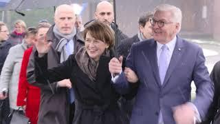 Bundespräsident Frank-Walter Steinmeier zu Besuch in Krefeld (am 08.02.2019 um 09:00)