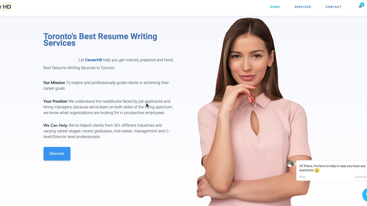 Careerhd Resume Writing Services 647 948 9262 Youtube