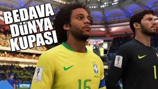 FIFA 18 DÜNYA KUPASI ÇIKTI! KAPIŞIYORUZ!