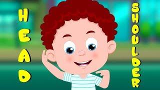 Head Shoulders Knees and Toes | Schoolies Cartoons & Nursery Rhymes for Kids