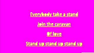 Caravan of love Lyrics