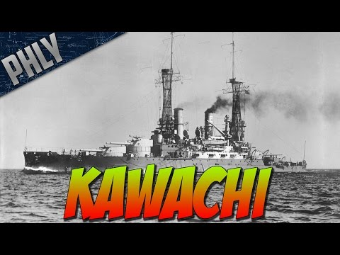 World Of Warships - Best Low Tier Battleship! IJN KAWACHI
