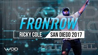 Ricky Cole | FrontRow | World of Dance San Diego 2017 | #WODSD17