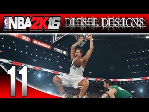 NBA 2K16: My Career: S1E11: Dunking on Boston! (Gameplay 1080p)