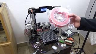 Podstawy Druku 3D - Jak zmienić filament w drukarce z ekstruderem Direct Drive i nic nie popsuć :)