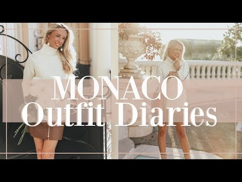 WHAT I DID + WORE IN MONACO // Fashion Mumblr Travel Vlog