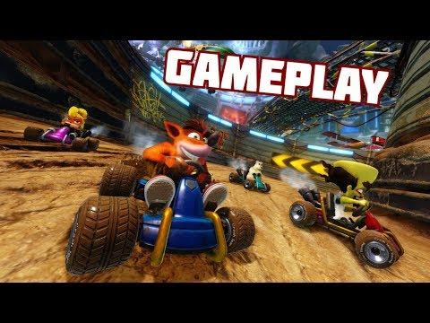 Crash Team Racing Nitro-Fueled Gameplay (1080p)
