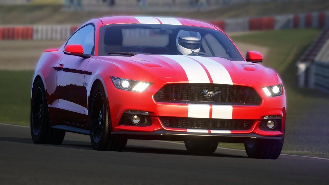 Ford Mustang Nascar Assetto Corsa