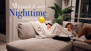 My Quick & Easy nighttime routine! | jasmeannnn