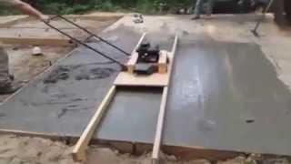 DIY Power Screed