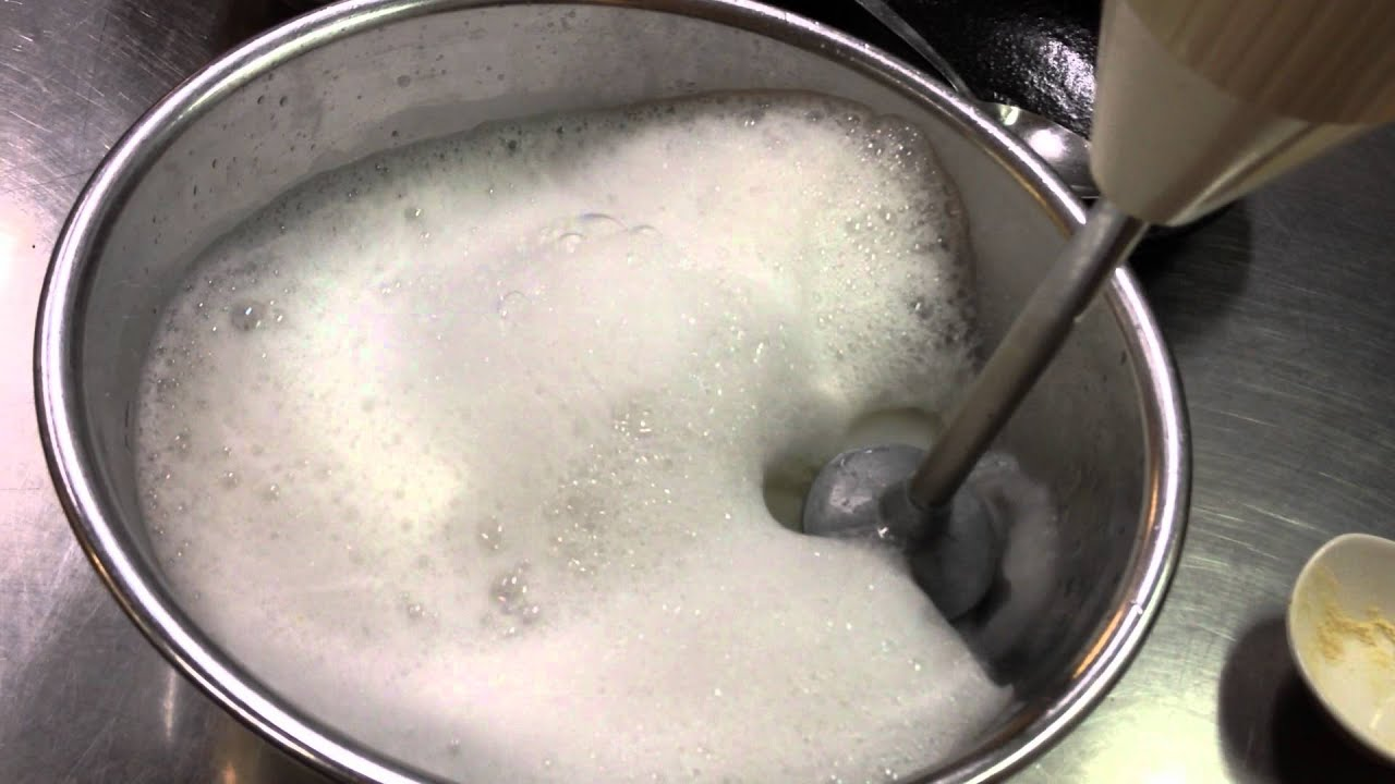 How to make culinary foam