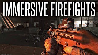 IMMERSIVE FIREFIGHTS - Escape From Tarkov .11 Gameplay