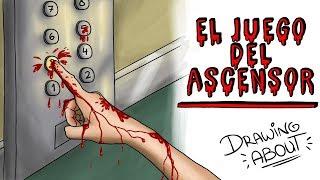 EL JUEGO DEL ASCENSOR EL RITUAL COREANO | Draw My Life