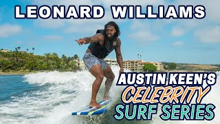 Leonard Williams Sacks Austin Keen on Celebrity Surf Series