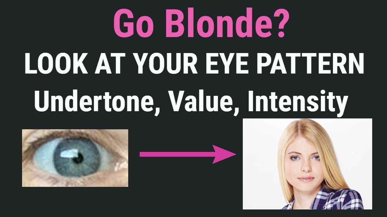 Is Going Blonde For You 3 Choose Best Hair Color For Skin Tone And Undertone Blonde Hair Ideas Youtube