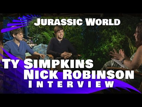 Nick Robinson and Ty Simpkins Interview:Jurassic World