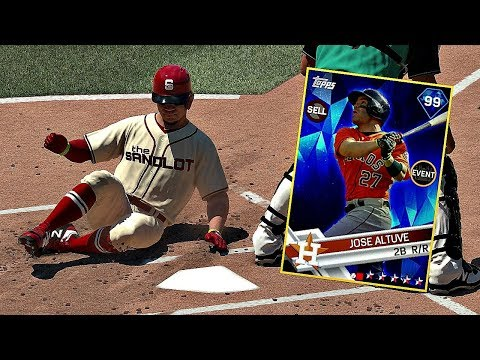THE JOSE ALTUVE BREAKOUT GAME!! MLB The Show 17 Diamond Dynasty