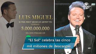 El cantante mexicano ha alcanzado un récord musical