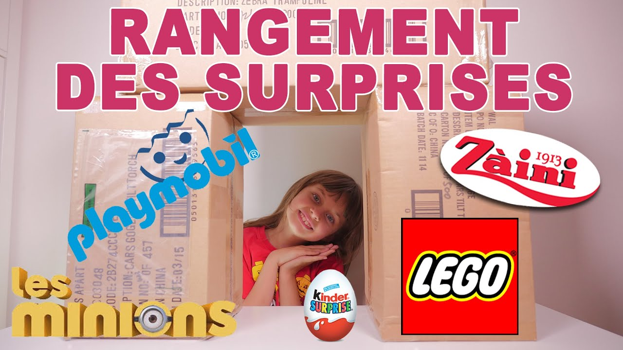 vlog rangement de lego playmobil et surprises studio bubble tea youtube. Black Bedroom Furniture Sets. Home Design Ideas
