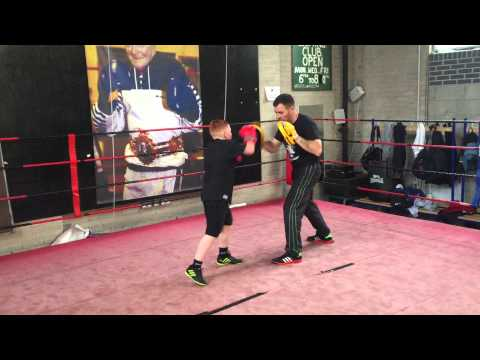 Friday Night Pad work at Jimmy Egans Boxing Academy