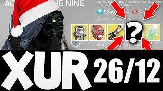 Destiny - XUR Agent of the Nine LOCATION AND ITEMS