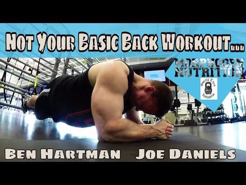 Big Back Mass Building Workout with Ben Hartman and Joe Daniels  on 9/10/15