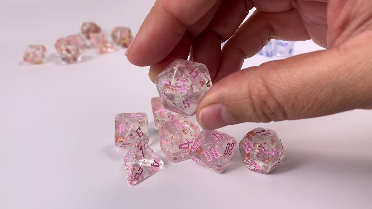 Alchemy Dice Fragments of Venus Pink Ink