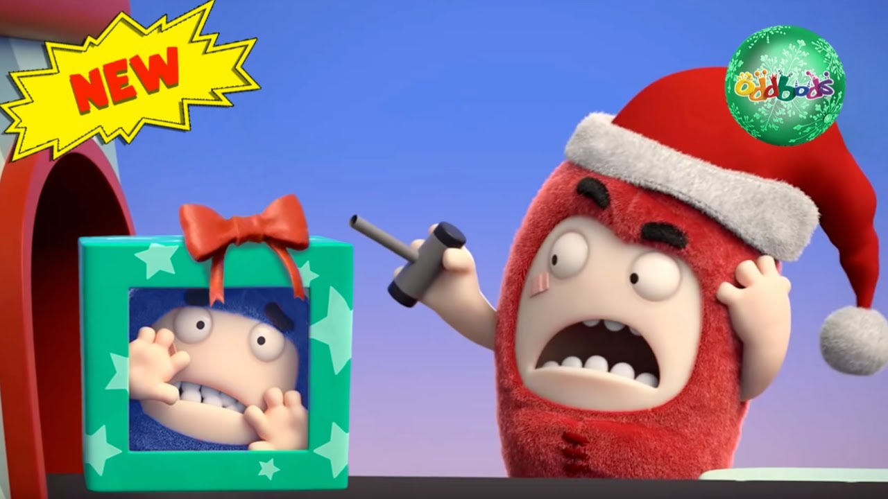 Oddbods | CHRISTMAS 2019 | Shopping For Toys | Funny Cartoons For Kids