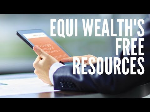 Equi Wealth's free resources to get your finances under control