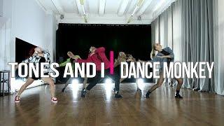 TONES AND I - Dance Monkey | #alberzonefierce choreography | groups Video