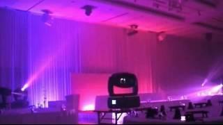 Digital Spot Lighting Show in Banqutte Hall Seq 3
