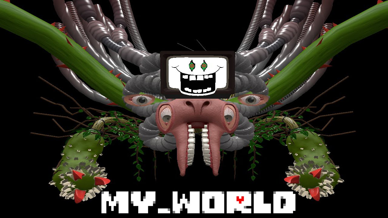 my_world - Omega Flowey boss fight [Team Fortress 2] [Maps]