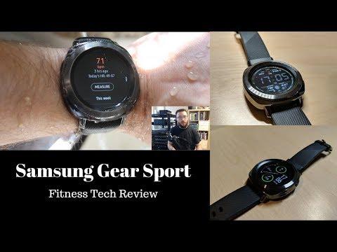 Samsung Gear Sport Tech Fitness Review