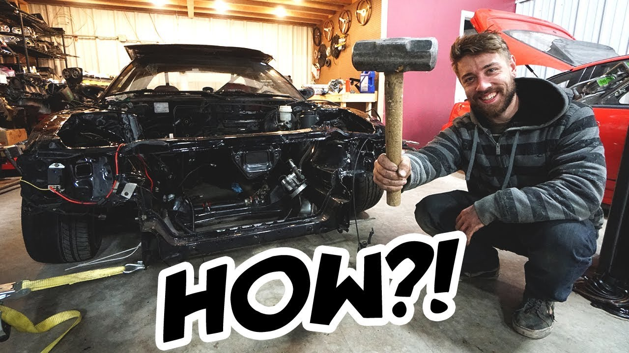 fixing-my-wrecked-car-in-just-a-few-hours
