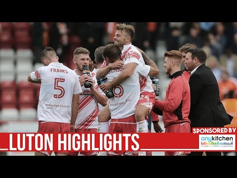 HD HIGHLIGHTS | Stevenage 2-1 Luton Town |  League Two 2016/2017