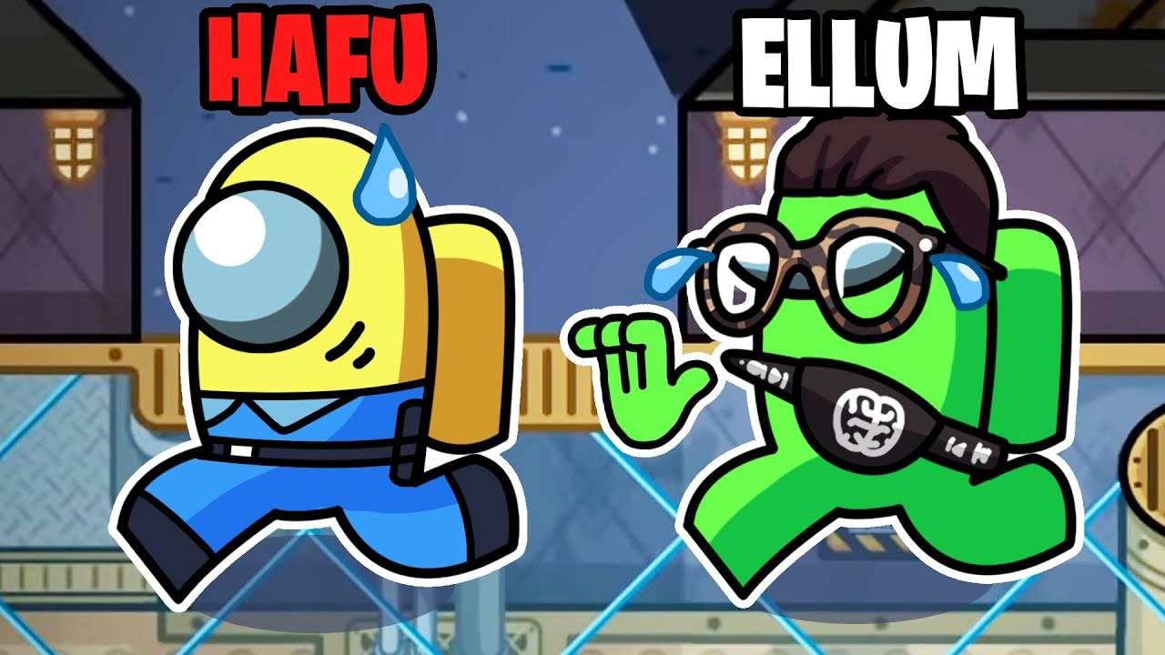 I PRETENDED TO BE THE IMPOSTER FOR THE ENTIRE GAME IN THE 5UP LOBBY! (Among Us)