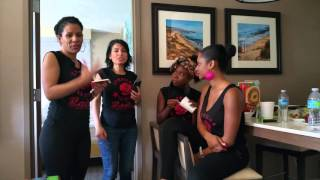 Los Angeles Ladies Take The Lead-Female Kizomba Dance Instructors