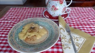 Apple Crumble With Corn Flakes And Raisins - My Version