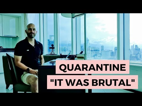 I just finished hotel quarantine in Bangkok. It was brutal.