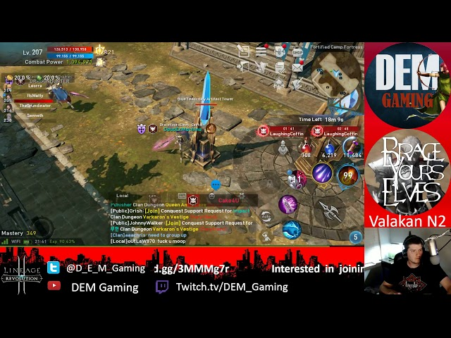 BYE vs LaughingCoffin Fortress Siege
