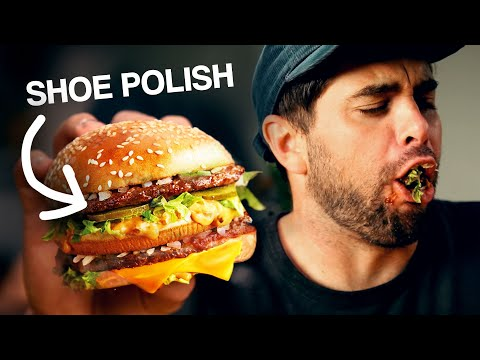 Eating Foods From Commercials (McDonalds, Burger King, Pizza Hut)