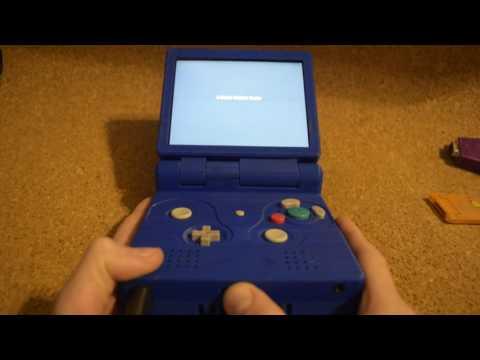 Portable GameCube Advance SP (GCA SP)