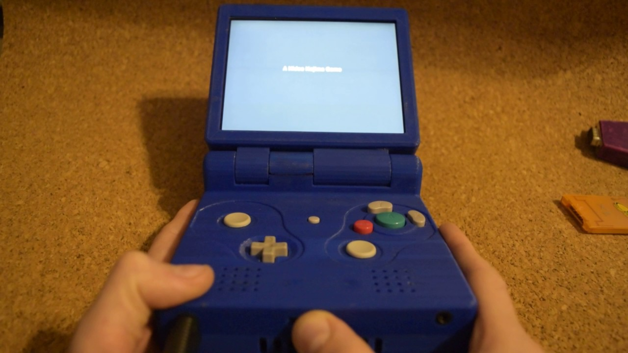 Go Portable With Gamecube Advance Sp Hackaday