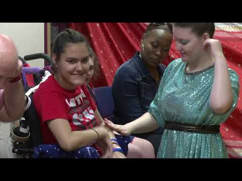 Magical Experiences Arts Company at the Texas School for the Blind & Visually Impaired 2015