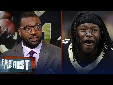 Chris Canty on Alvin Kamara's 'disrespectful' comments about the Eagles | NFL | FIRST THINGS FIRST