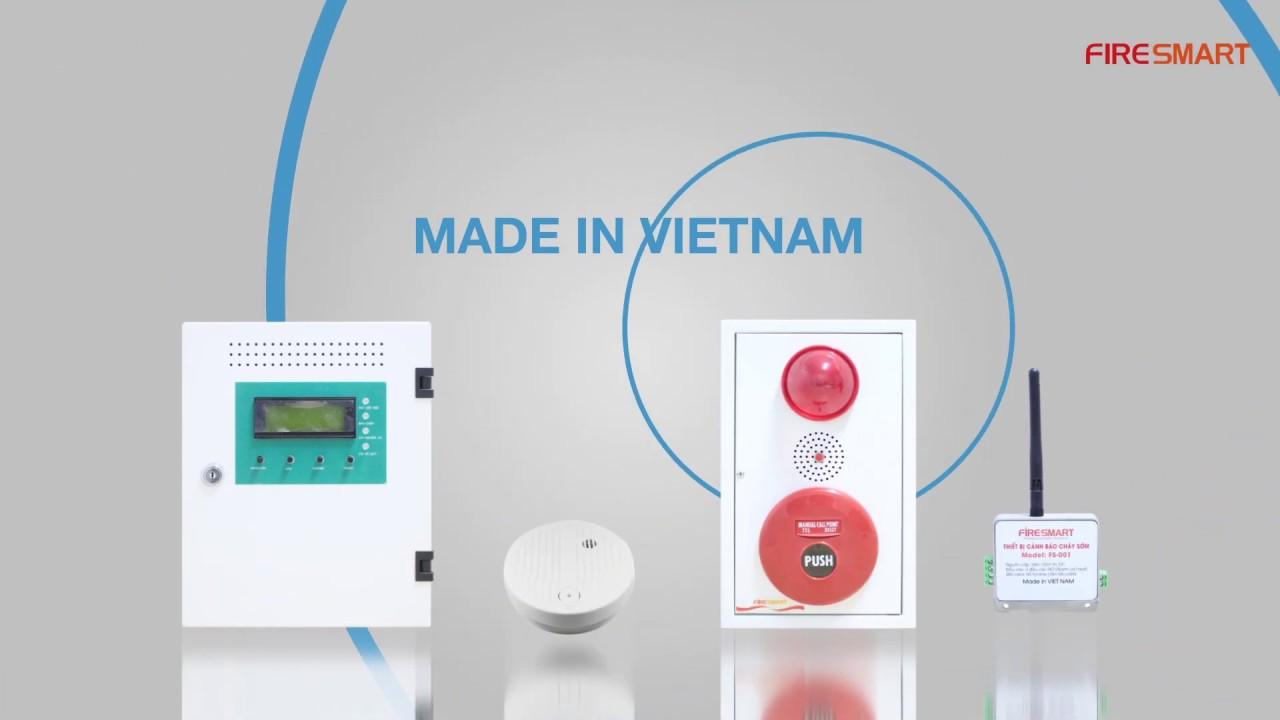 Báo cháy không dây FireSmart – Made in Vietnam