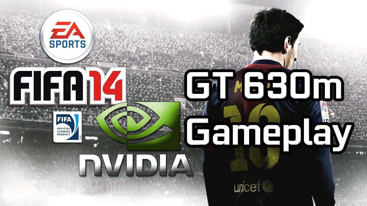 Nvidia Geforce GT 630m FIFA 14 Demo